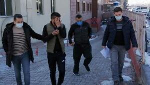 Kayseri'de 5 kişiye uyuşturucu gözaltısı
