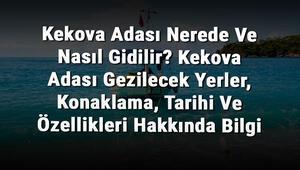 Kekova Adası Nerede Ve Nasıl Gidilir Kekova Adası Gezilecek Yerler, Konaklama, Tarihi Ve Özellikleri Hakkında Bilgi