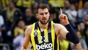 Fenerbahçe Bekonun Sırp basketbolcusu Guduric, takımın performansından memnun