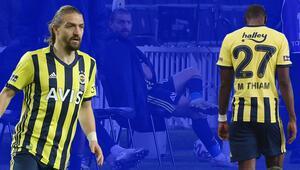 Fenerbahçede Caner Erkin ve Mame Thiam'a uyarı