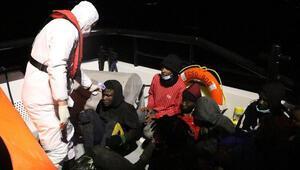 Çanakkalede 51 kaçak göçmen kurtarıldı