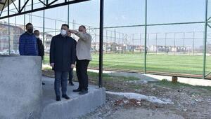 Biga Belediye Başkanı Erdoğan, projeleri inceledi