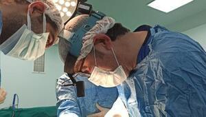 Prematüre doğan bebeğe kalp ameliyatı yapıldı