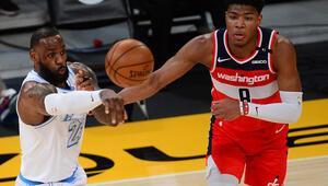 NBAde gecenin sonuçları: Washington Wizards, Lakersı uzatmada devirdi