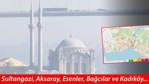 İstanbul kritik seviyeye ulaştı Korkutan görüntü