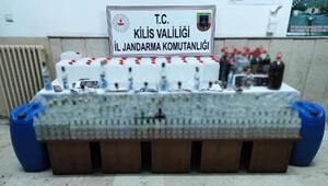 Kilis'te sahte içki operasyonu