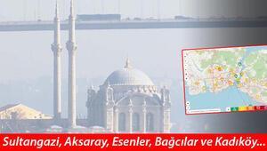 İstanbulda hava kirliliği hassas seviyeye ulaştı