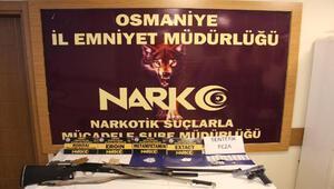 Osmaniyede uyuşturucu operasyonu: 15 gözaltı