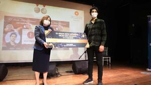 Gaziantep destanının anlatıldığı yarışmada dereceye girenler ödüllendirildi
