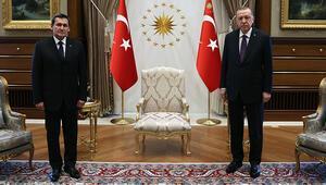 Cumhurbaşkanı Recep Tayyip Erdoğan, Türkmenistan Dışişleri Bakanı Meredowu kabul etti