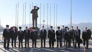 Atatürkün Marmarise gelişinin 86ncı yıldönümü törenle kutlandı