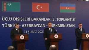 Üçlü Dışişleri Bakanları Toplantısının ardından Bakan Çavuşoğlundan açıklamalar