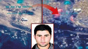 Orman katili terörist SİHA ile etkisiz