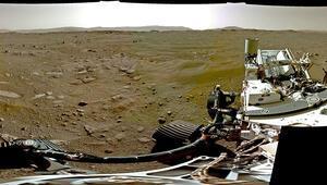 NASA Mars'a inişi paylaştı