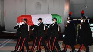 Saldırıda ölen İtalyan Büyükelçinin cenazesi ülkesine getirildi