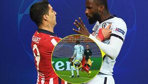 Isırıkçı Suarez tarz değiştirdi Rüdiger ile fena kapıştılar...