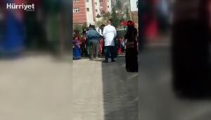 Suriyeli çiftin düğününe polis baskın düzenledi