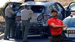 Trafik kazası geçiren Tiger Woodsun son durumu Doktor ve polislerden açıklama...
