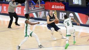 NBAde Gecenin Sonuçları: Mavericks, Doncicin son saniye basketiyle kazandı