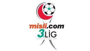 Misli.com 3. Ligde hafta içi mesaisi 4 grup 32 maç...