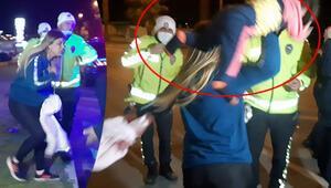 Antalyada ortalık fena karıştı Gazetecilere saldırdı, çocuklarını yere atmakla tehdit etti