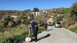 Temiz ve sağlıklı bir Akdeniz için ekipler 7 gün 24 saat görev başında