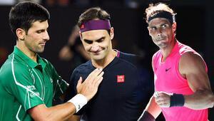 Teniste büyük 3lünün kortlardaki hakimiyeti bitmiyor