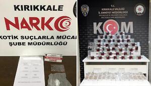 Kırıkkalede uyuşturucu operasyonunda 2 kişi tutuklandı