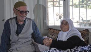 Köse çifti, 71 yıllık evlilikleri ile örnek oluyor