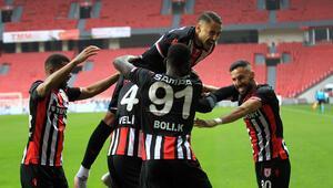 Samsunspordan Eskişehirspora yarım düzine gol