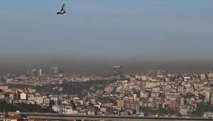 İstanbulda alarm Hava kirliliği, bazı ilçelerde sarıdan turuncu renge döndü