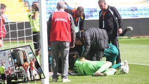 Adanaspordan maçta rahatsızlanan kaleci Karacicin durumu hakkında açıklama