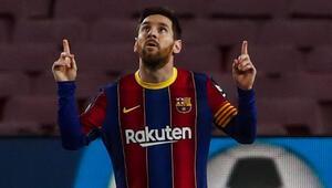 Lionel Messinin gol krallığında zirveye yükseldiği maçta Barcelona farklı kazandı