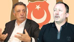 Beşiktaş Başkanı Ahmet Nur Çebiden Sergen Yalçın açıklaması Sözleşme...