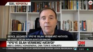 ABDli emekli korgeneral: YPGye silah vermemiz hataydı