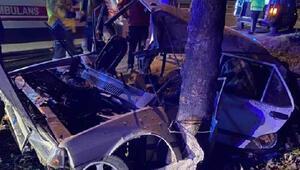 Feci kaza: Anne ve baba öldü, 4 çocuk yaralı