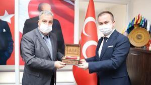 AK Partiden MHPye hayırlı olsun ziyareti