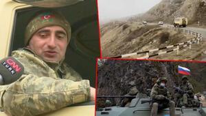 Karabağ'ın en stratejik noktası Giderken ağaçları bile kesmişler…