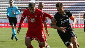 TFF 1. Lig: Boluspor 0-0 Balıkesirspor