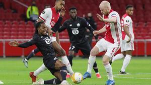 Lillee Yusuf Yazıcının golü yetmedi Ajax, Avrupa Liginde turladı