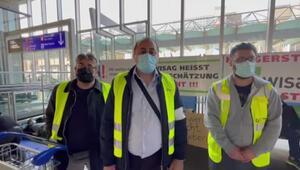 Aralarında Türkler de var Frankfurt Havalimanı çalışanlarından açlık grevi: Koronavirüsü fırsat bildiler, kapı dışına bıraktılar