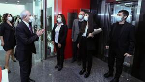 Kılıçdaroğlu, SOL Parti heyetini kabul etti