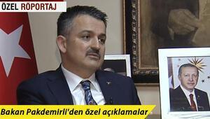 Bakan Pakdemirliden özel açıklamalar... İstanbulun ne kadar suyu var Gıda fiyatları düşer mi
