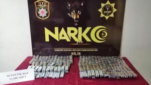 Kilis'te, uyuşturucu operesyonu: 5 gözaltı