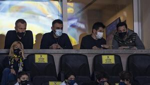 Emre Belözoğlu ve Erol Bulut Fenerbahçe Beko maçında