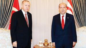 Tatar, Erdoğan'ın doğum gününü kutladı, Kıbrıs desteği aldı