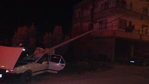 Antalyada korkunç kaza Otomobil sürücüsü hayatını kaybetti