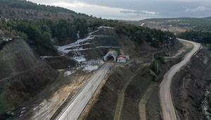 Kızılcahamam-Çerkeş Tüneli bugün açılıyor