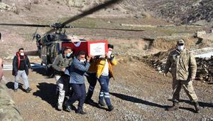 Şehit olan güvenlik korucusu Şırnakta son yolculuğuna uğurlandı