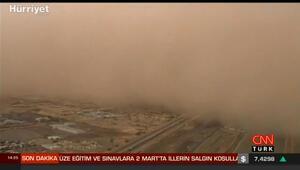 Çöl tozları Türkiyede ne kadar etkili olacak
